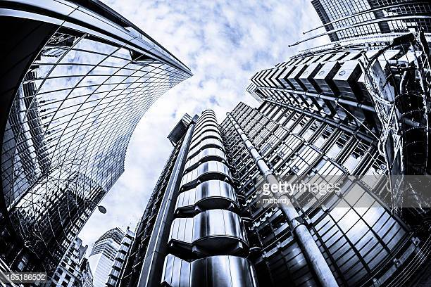 Lloyd's building in City of London
