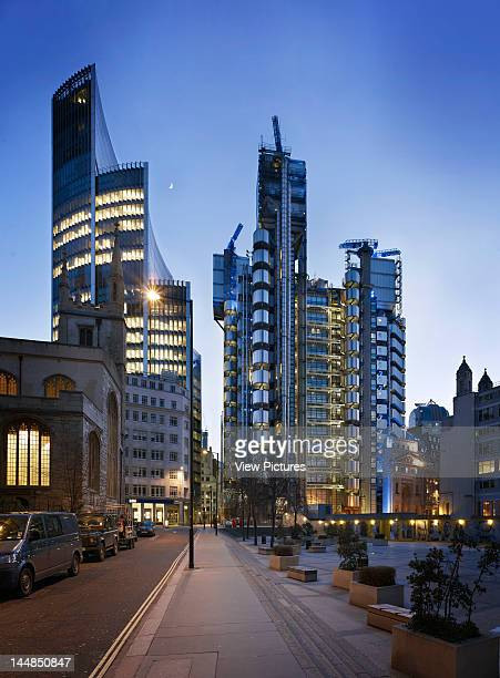 Lloyds Building Leadenhall Street London Ec3 United Kingdom Architect Richard Rogers Partnership London Uk Richard Rogers Partnership Rshp Fosters...