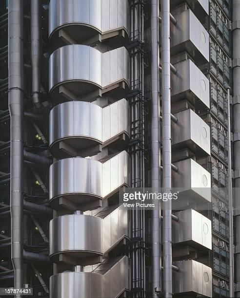 Lloyds Building London United Kingdom Architect Richard Rogers Partnership Lloyds Building Exterior Detail
