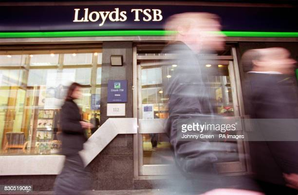 A Lloyds TSB bank branch in central London Lloyds TSB's proposed takeover of Abbey National took a step forward after it submitted details of the...