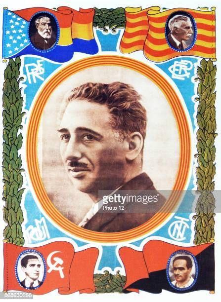 Lluis Companys i Jover President of Catalonia in from 1934 and during the Spanish Civil War