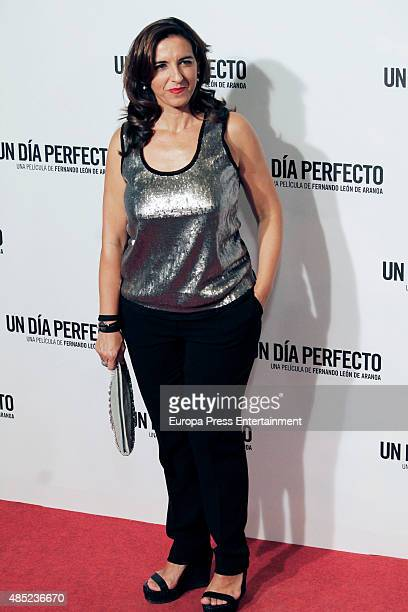 Llum Barrera attends 'A perfect day' premiere on August 25 2015 in Madrid Spain