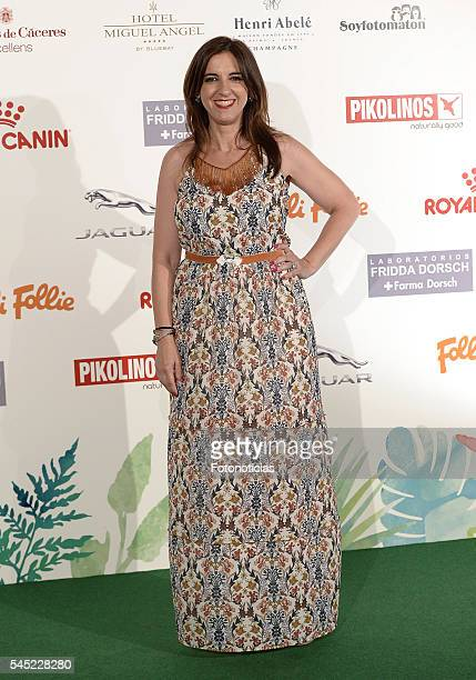 Llum Barrera attends Corazon Solidario Magazine Awards at Miguel Angel Hotel on July 6 2016 in Madrid Spain