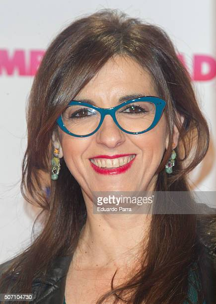 Llum Barrera attends 'Embarazados' premiere at Capitol cinema on January 27 2016 in Madrid Spain