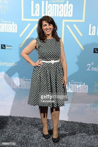 Llum Barrera attends 'La Llamada' premiere at the Lara Theater on April 15 2015 in Madrid Spain