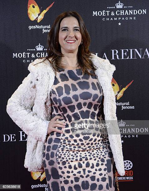 Llum Barrera attends 'La reina de Espana' Madrid premiere at Callao City Lights cinema on November 24 2016 in Madrid Spain