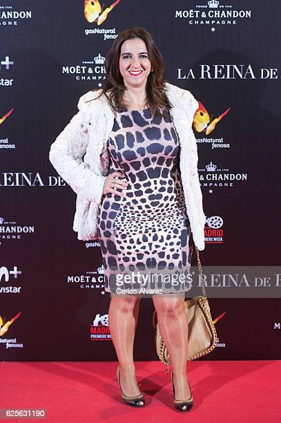 Llum Barrera attends 'La Reina de Espana' premiere at Callao City Lights on November 24 2016 in Madrid Spain