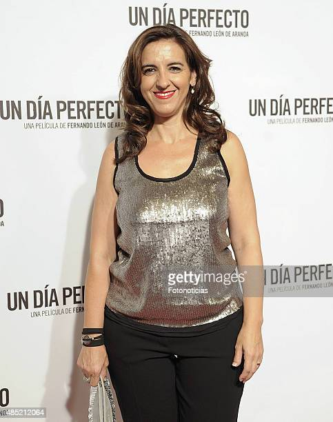 Llum Barrera attends the 'A Perfect Day' Premiere at Palafox Cinema on August 25 2015 in Madrid Spain