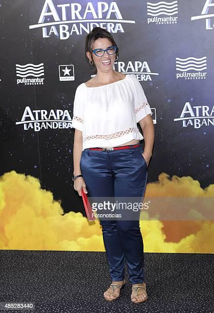 Llum Barrera attends the 'Atrapa La Bandera' Madrid Premiere at Kinepolis Cinema on August 26 2015 in Madrid Spain