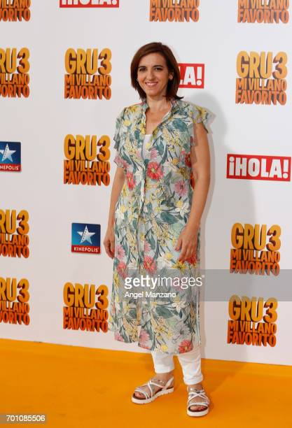 Llum Barrera attends the 'Despicable Me 3' premiere at Kinepolis cinema on June 22 2017 in Madrid SPAIN