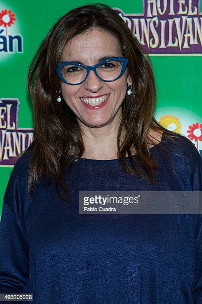 Llum Barrera attends the 'Hotel Transilvania 2' premiere at the Capitol cinema on October 17 2015 in Madrid Spain