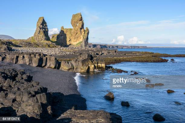 Lóndrangar, Snæfellsnes Peninsula, Iceland