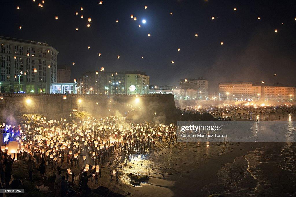 Lnterns illuminating Galicia