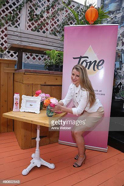 Lo Bosworth at the Tone Petal Soft Body Wash Spring Event on May 14 2014 in New York City