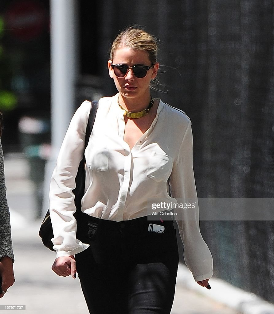 Lo Bosworth is seen in Soho on May 3, 2013 in New York City.