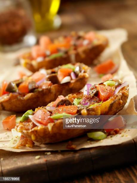 Loaded Stuffed Potato Skins