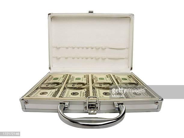 Carregado com dinheiro