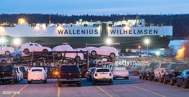 Loading Vehicle Carrier
