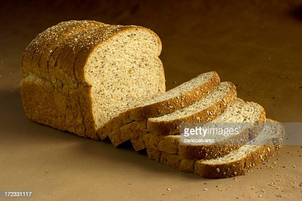 Loaf of Brown Bread w/Clipping path