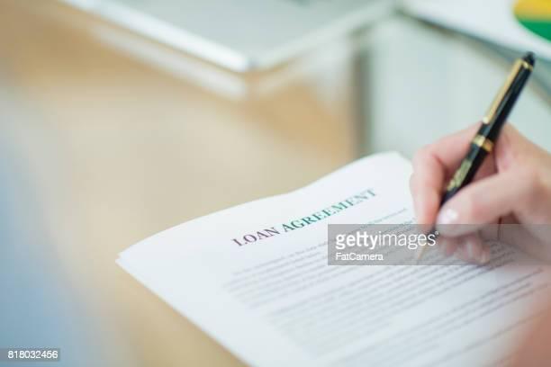 Accord de prêt