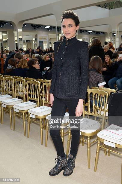 Loan Chabanol attends the Chanel show as part of the Paris Fashion Week Womenswear Fall/Winter 2016/2017 on March 8 2016 in Paris France
