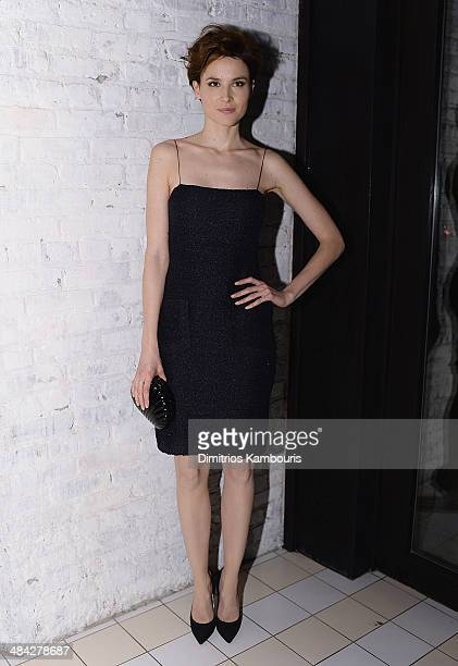 Loan Chabanol attends The Cinema Society Women's Health and Svedka host the after party for Millennium Entertainment's 'Fading Gigolo at Bar Nana on...