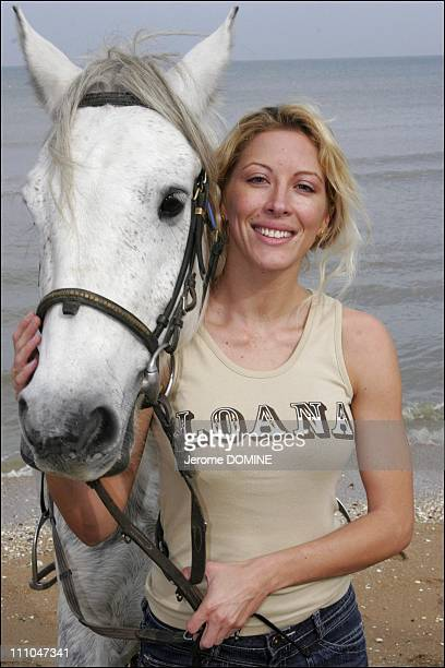Loana at the 12th Epona Festival Film Festival Of Horse On Television In Cabourg France On October 08th 2005