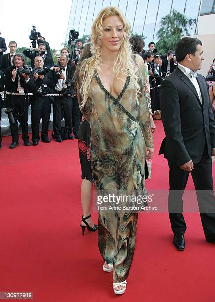 Loana during 2005 Cannes Film Festival 'The Three Burials of Melquiades Estrada' Premiere at Palais de Festival in Cannes France