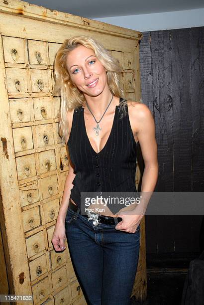 Loana during ''Le Scaphandre et le Papillon'' End of Shooting Party at Mandala Ray in Paris France
