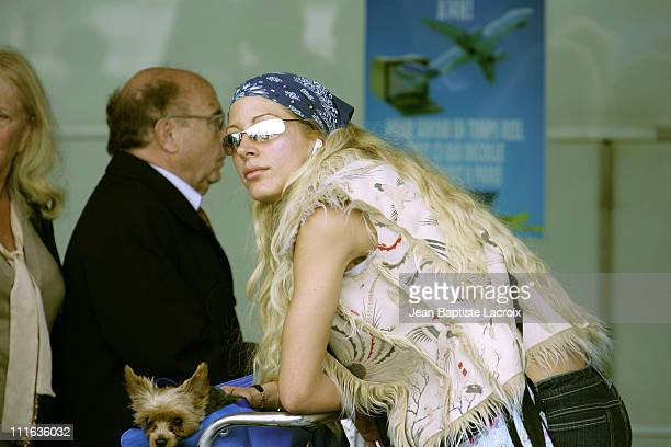 Loana during Loana Sighting in Paris Airport May 24 2005 at Orly Airport in Paris France