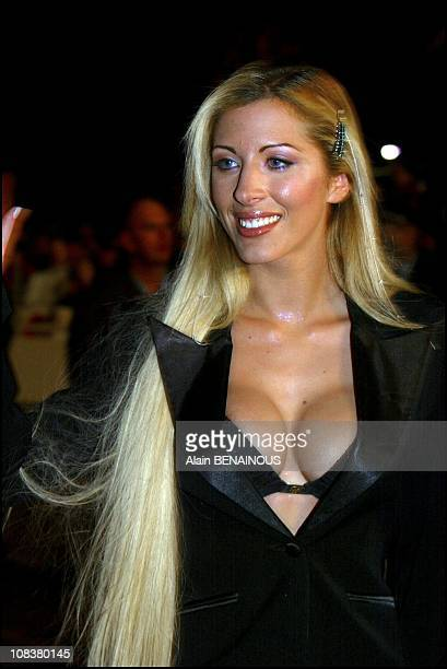 Loana in Cannes France on January 19 2002