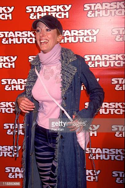 Loana of LoftStory during 'Starsky Hutch' Paris Premiere Arrivals at Gaumont Marignan in Paris France France