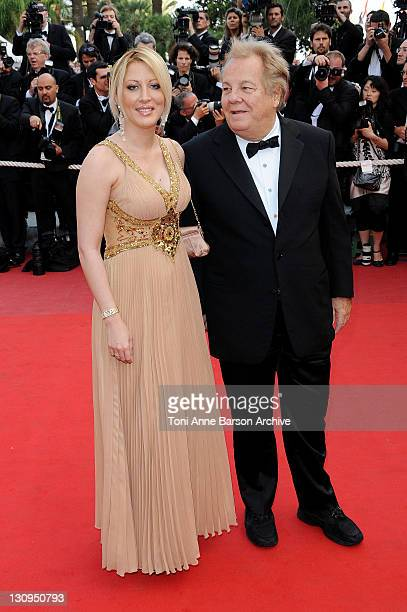 Loana Petrucciani and Massimo Gargia attend the Vengeance Premiere at the Grand Theatre Lumiere during the 62nd Annual Cannes Film Festival on May 17...