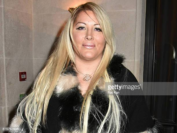 Loana Petrucciani attends 'Guitar Tribute' by Golden disc awarded Jean Pierre Danel at Hotel Burgundy on April 7 2015 in Paris France