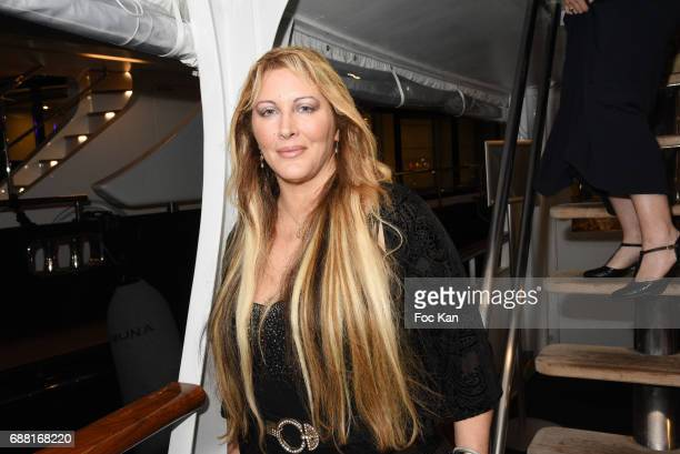 Loana Petrucciani from the Loft1 TV serial attends Technikart Boat Party 70th annual Cannes Film Festival at Lady of Jersey on May 24 2017 in Cannes...
