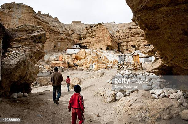 Loba residents of the Chhosher region lived in cave homes until recently Now only two families live in this manner Hidden in the rain shadow of the...