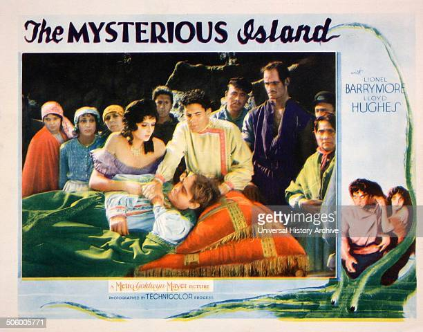 Lobby Card for the film the Mysterious Island MetroGoldwynMayer film directed by Lucien Hubbard a film adaptation of Jules Verne's novel L'Île...