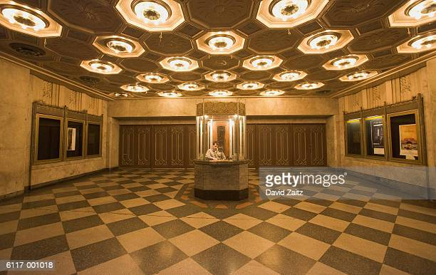 Lobby of Movie Theater