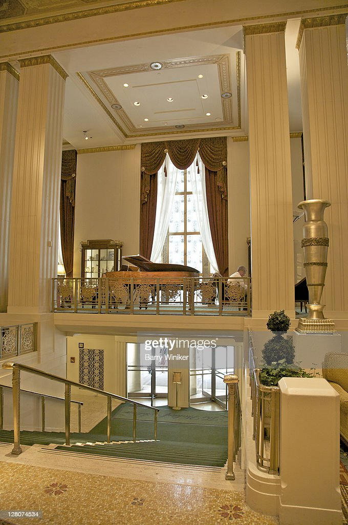 Lobby The Waldorfastoria New York Ny Designed By Schultze And ...
