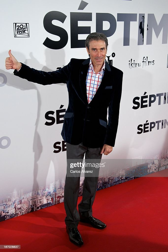 Lobo Carrasco attends the 'Septimo' premiere at the Capitol cinema on November 5, 2013 in Madrid, Spain.