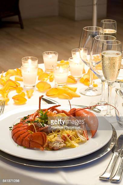 Lobster and Pasta at the Hotel Terme di Saturnia