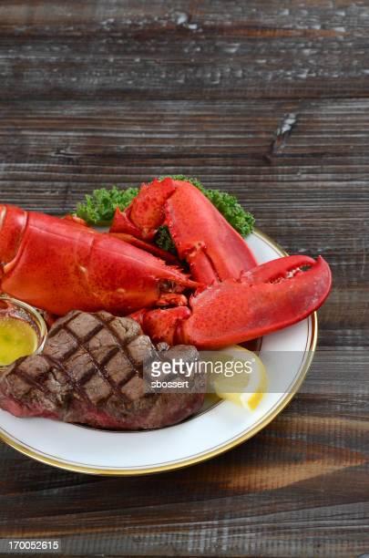 Lobster and Steak Surf 'n' Turf