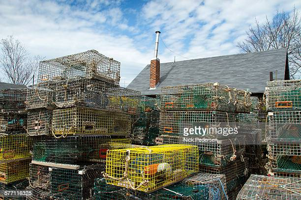 Lobster Crates in Maine