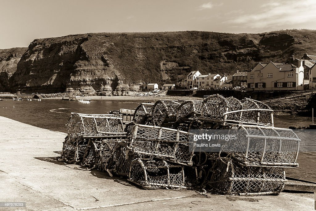 Lobster Pots at Staithes