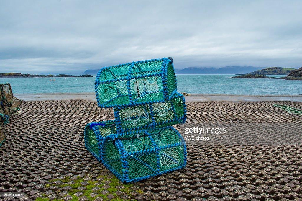 Lobster Pots, Isle of Seil, Scotland