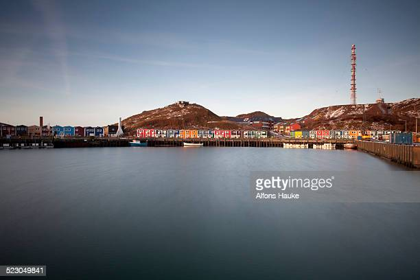 Lobster shacks, Heligoland, Schleswig-Holstein, Germany, Europe