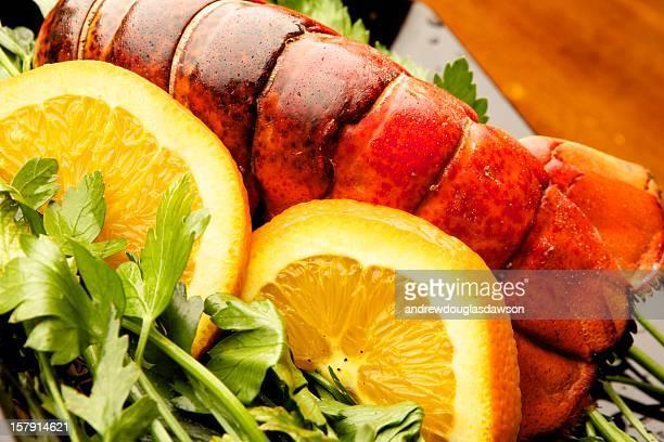 Lobster Tail & Oranges