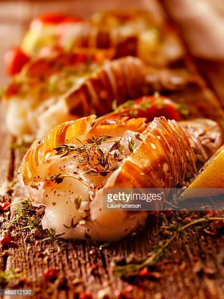 Lobster Tails Seasoned for the Grill