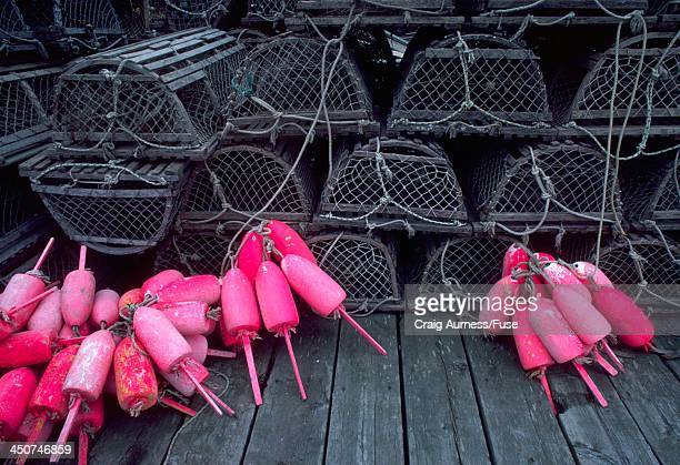 Lobster Traps and Floats