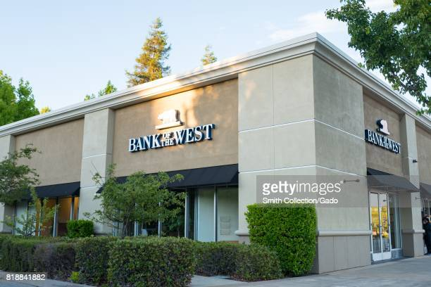 Local branch of Bank of the West in the San Francisco Bay Area town of San Ramon California July 15 2017 Bank of the West is a subsidiary of BNP...
